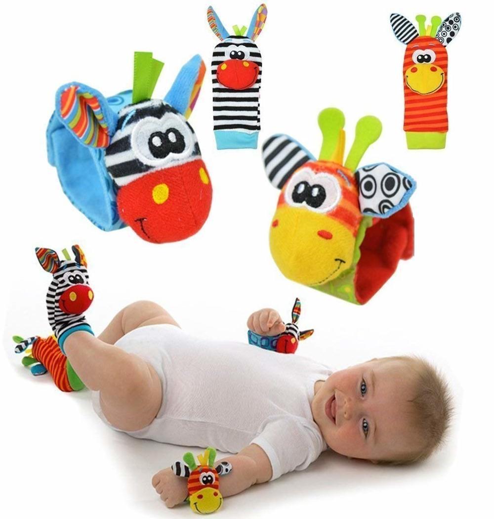 sonajeros pies y manos bebé