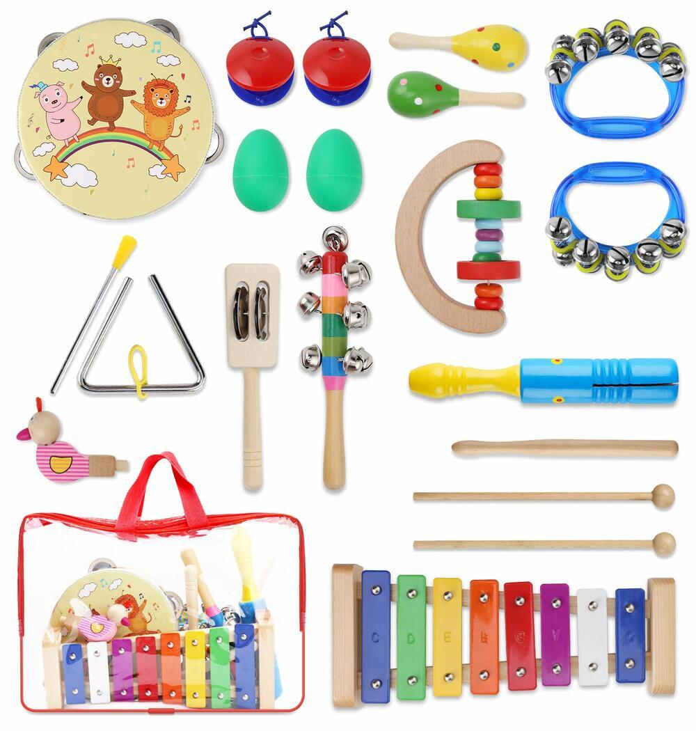 instrumentos musicales bebé