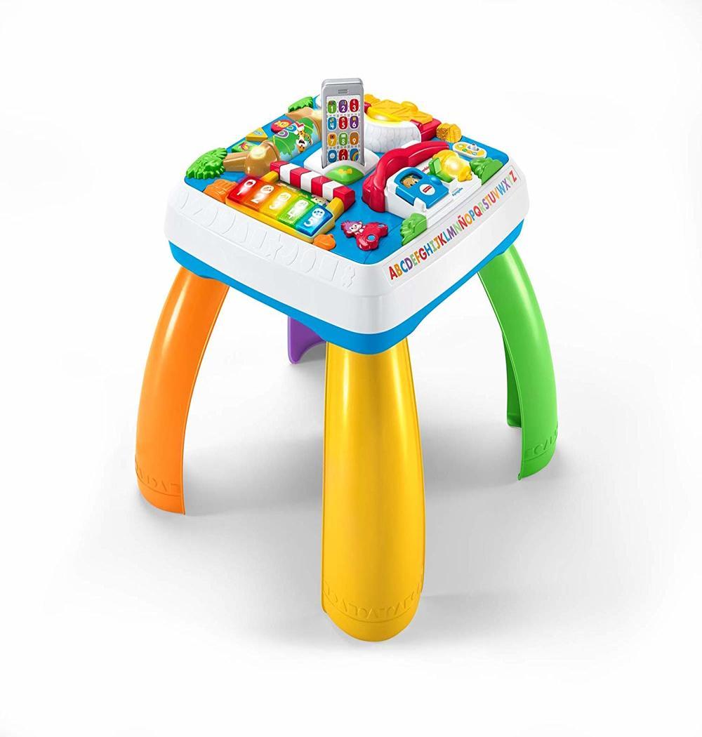 mesa de actividades bebé